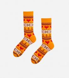 Kolorowe skarpetki - Warm Fox