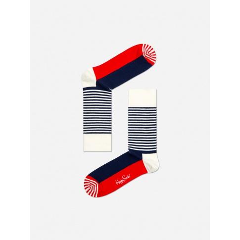 Kolorowe skarpetki - Half Stripe sock