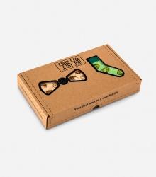 Zestawy - Skarpety i muszka: model Kiwi