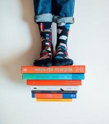 Kolorowe skarpetki - The Book Story