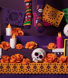 Kolorowe skarpetki - Fiesta Mexicana