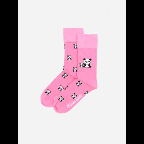 Kolorowe skarpetki - Cute Panda
