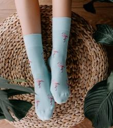 Kolorowe skarpetki - Flamingo Dream