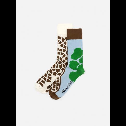 Kolorowe skarpetki - Crazy Giraffe
