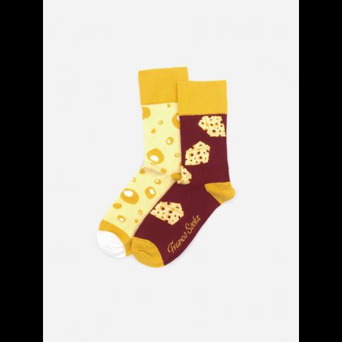 Kolorowe skarpetki - Swiss Cheese