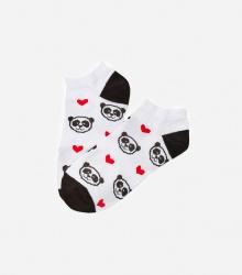 Kolorowe stopki - Panda Love