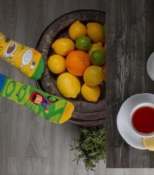 Kolorowe skarpetki - Herbata