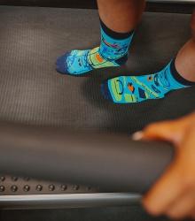 Kolorowe skarpetki - Fitness