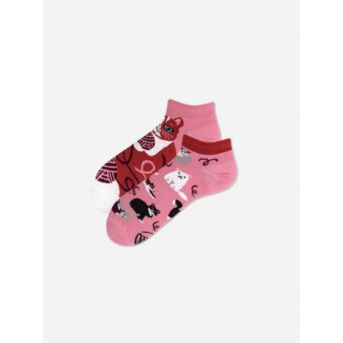 Kolorowe stopki - Playful Cat