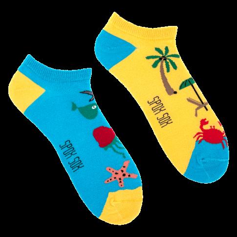 Kolorowe stopki - Stopki Plaża i Morze