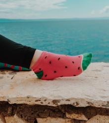 Kolorowe stopki - Arbuzy