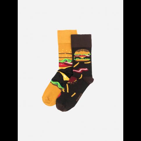 Kolorowe skarpetki - Burger