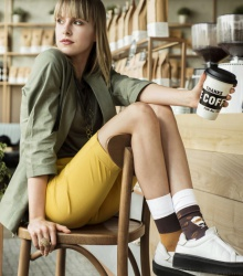 Kolorowe skarpetki - Coffee Time