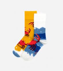 Kolorowe skarpetki - Crab