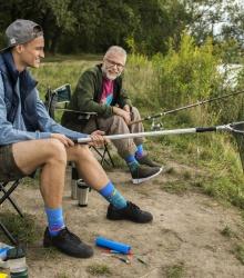 Kolorowe skarpetki - Fishing