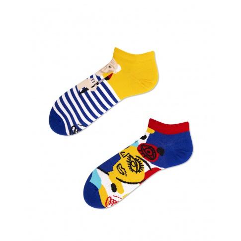Kolorowe stopki - Picassosocks Low