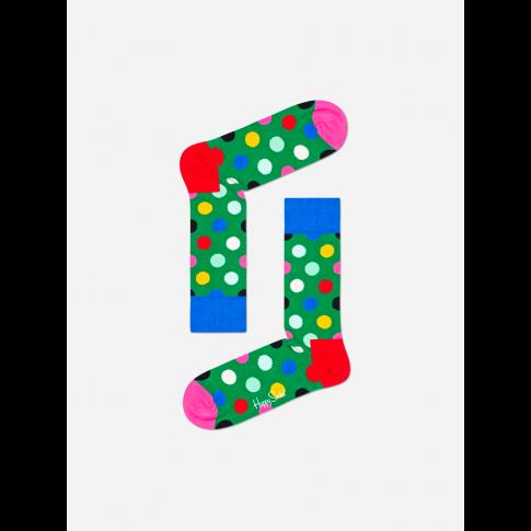Kolorowe skarpetki - Duże kropki
