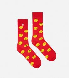 Kolorowe skarpetki - Smile Red