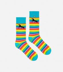 Kolorowe skarpetki - Rainbow Unicorn