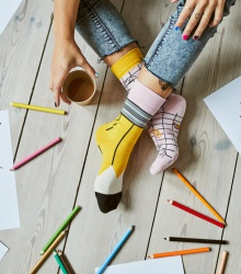 Kolorowe skarpetki - Paperwork