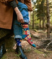 Kolorowe skarpetki - Apache Tribe