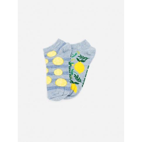 Kolorowe stopki - Cytryny