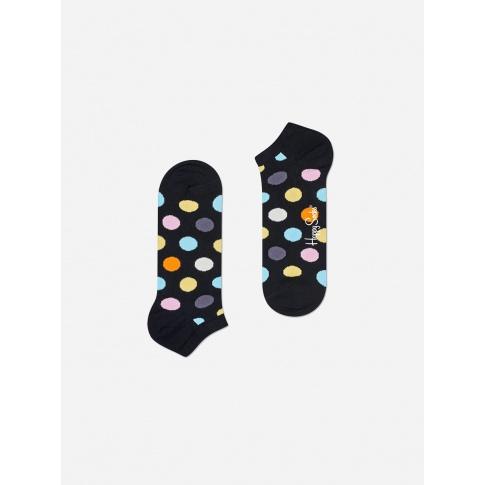 Stopki w kolorowe kropki / czarne