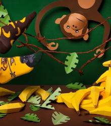 Kolorowe skarpetki - Monkey Business