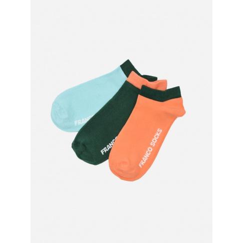 Stopki damskie trzy kolory / 3-pak