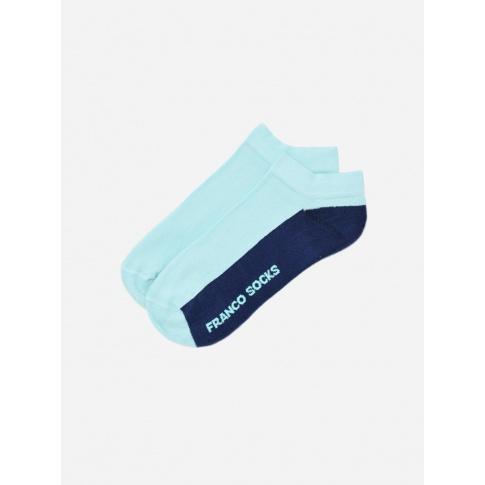 Kolorowe stopki damskie / błękitno-granatowe
