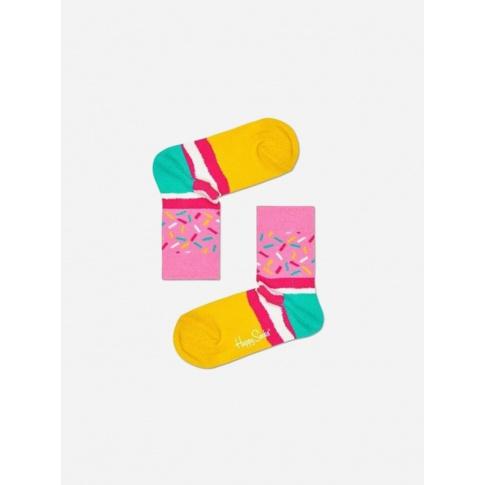 Skarpetki dla dzieci cukierkowe z posypką