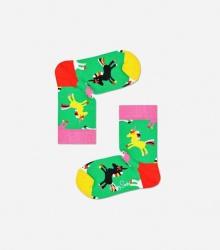 Skarpetki dla dzieci - Jednorożec / zielone