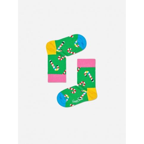 Skarpetki dla dzieci - świąteczne / zielone