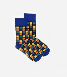 Kolorowe skarpetki - Kostka Rubika
