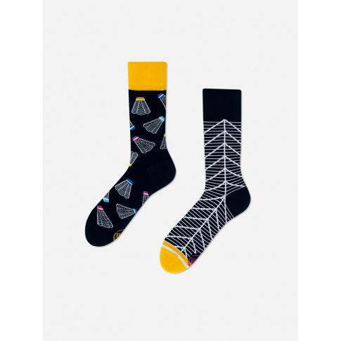 Kolorowe skarpetki - Badminton Time