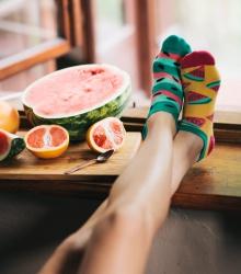 Kolorowe stopki - Watermelon Splash Low