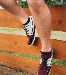 Kolorowe stopki - Beetroot Low